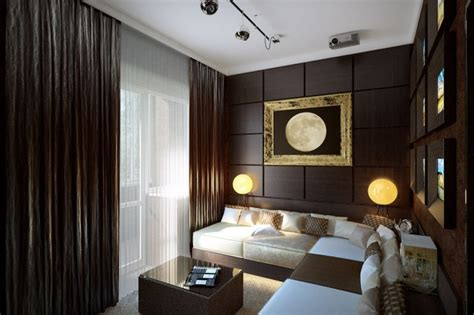 brown and white home decor a room decorated in two distinct styles