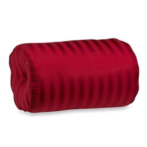 wamsutta 174 damask stripe black bolster throw pillow bed bath beyond buy bolster pillows from bed bath beyond