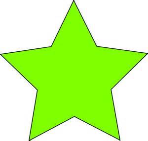 Light green star clip art at clker com vector clip art online