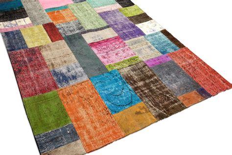patchwork vloerkleed maken modern turks vloerkleed vintage patchwork brokking