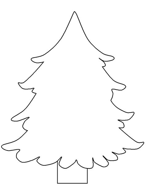 christmas tree pattern to color coloring pages of christmas trees coloring home