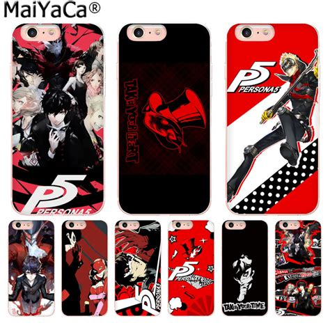 maiyaca p5 p persona 5 newest fashion luxury phone for apple iphone 8 7 6 6s plus x 5 5s se