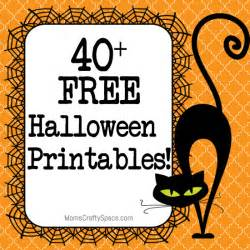 40 free halloween printables happiness homemade