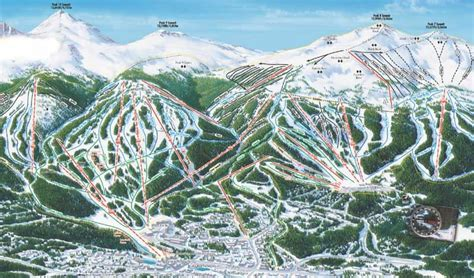 breckenridge ski map ski holidays in breckenridge usa the home of quot chagne quot powder snow specialist travel