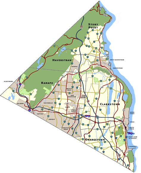 map of rockland county new york file rockland county ny map jpg the radioreference wiki