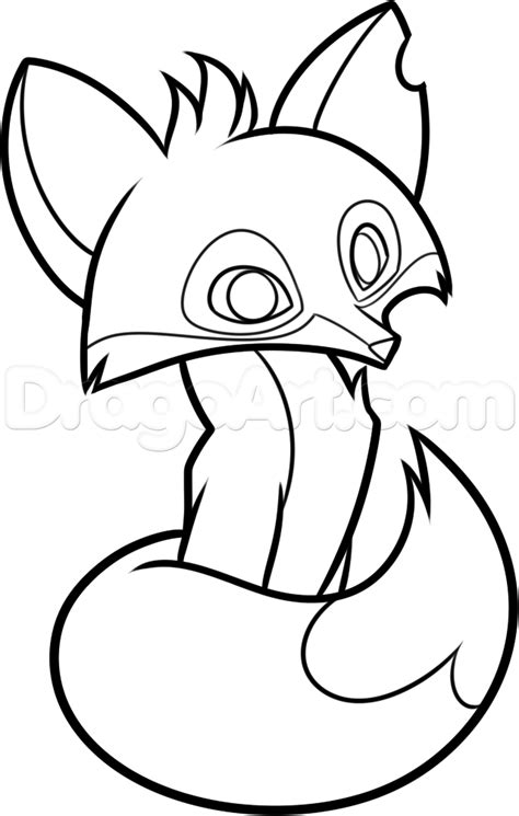coloring pages of animal jam how to draw an animal jam fox step by step