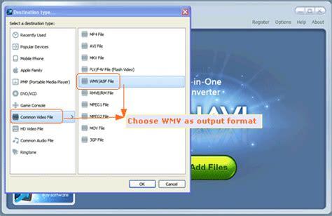 format audio wmv flv to wmv converter convert flv to wmv with winavi all