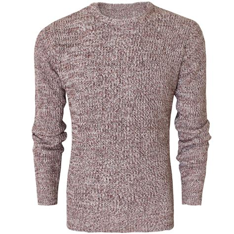 mens chunky knit sweater mens chunky knit jumper crew neck cotton knitted pullover