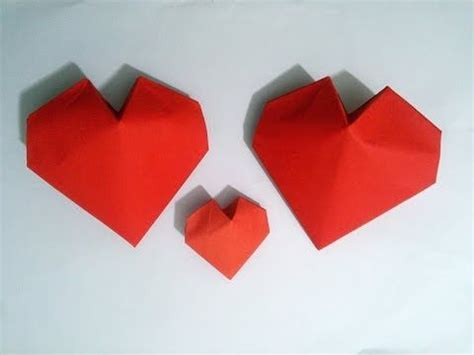 Origami 3d Hearts - 359 best images about origami hearts on