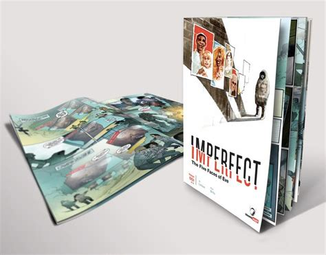 imperfect faces books al letson launches crowdfunding for comic book series