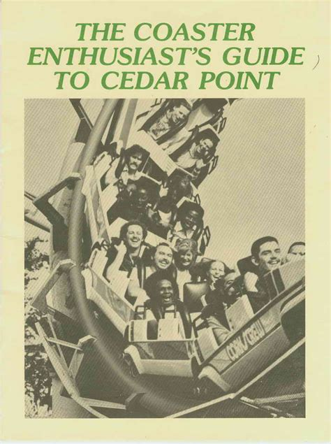 on pointe s guide to taking on the world books the coaster enthusiast s guide to cedar point may 1978