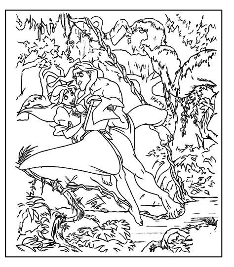 jungle coloring pages coloring home