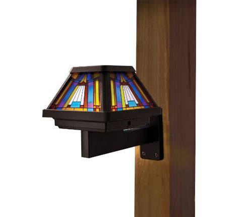 Illuminate And Save With Moonrays 91241 Stained Glass Stained Glass Solar Lights