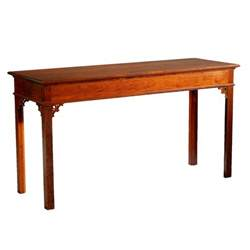 Sofa Console Table D R Dimes Chippendale Sofa Table Occasional Tables Sofa Console Tables