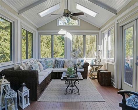 Decorated Sunrooms by Sunroom Design Ideas Remodels Amp Photos Houzz