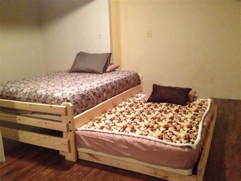 diy pallet trundle bed diy trundle bed pallet loft bed design ideal diy