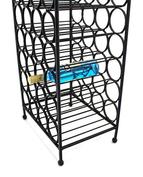Wine Rack For Sale by Large Wrought Iron Wine Rack For Sale At 1stdibs