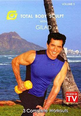 exercise gilad biography gilad total body sculpt workout vol 5 by gilad