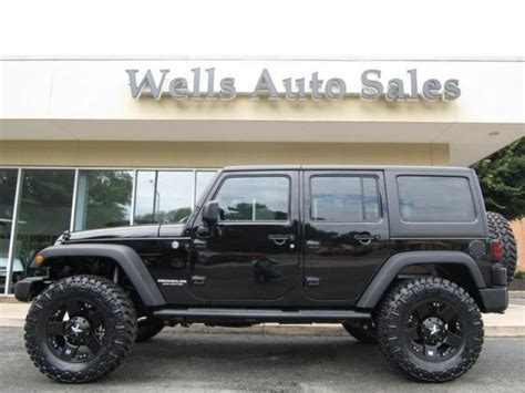 Jeep 4x4 Wrangler For Sale 2013 Jeep Wrangler Unlimited Custom Lifted 4x4 For Sale In