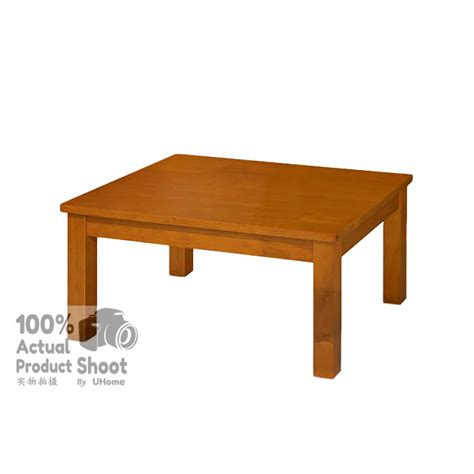Square Wooden Coffee Table Uhome Simple Wooden Square Living Room Coffee Table 11street Malaysia Tables