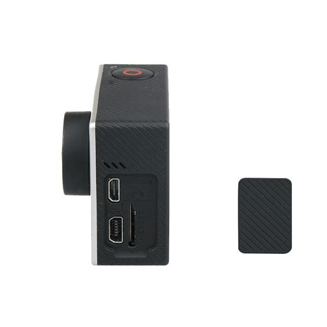 Usb Cover Tutup Gopro Go Pro 3 3 4 black replacement usb side door cover cap repair part