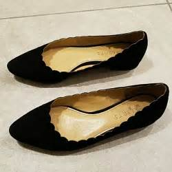 talbots shoes flats 69 talbots shoes talbots black suede scalloped
