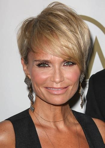 celebrity inspired short haircuts for women over 40