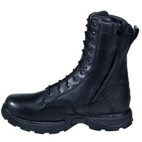 ems boots danner striker ii ems side zip mens black safety toe boot