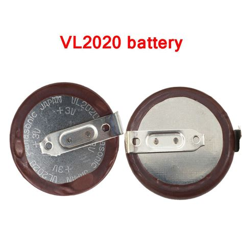 Bmw Key Battery Vl2020 genuine for panasonic vl2020 rechargeable battery for bmw