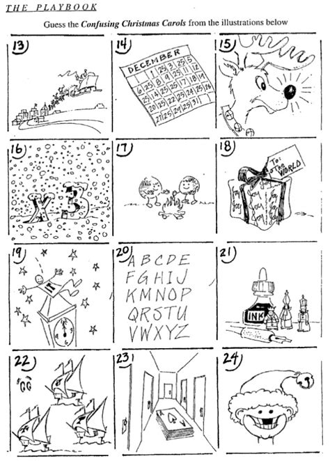 collection of christmas carol worksheets printable puzzle anecdotes