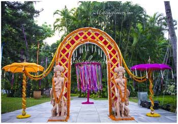 Wedding Gate Background by Wedding Decoration Pictures Flower Decoration For