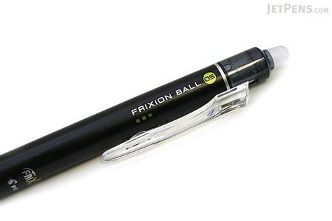 Ballpen Pilot Frixion 0507 pilot frixion knock retractable gel pen 0 5 mm black jetpens