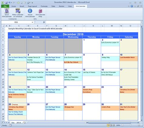 make an event calendar free wincalendar excel calendar creator with holidays