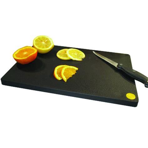 tagliere da cucina professionale tagliere professionale da bar mc polietilene 33x23x1 5cm nero