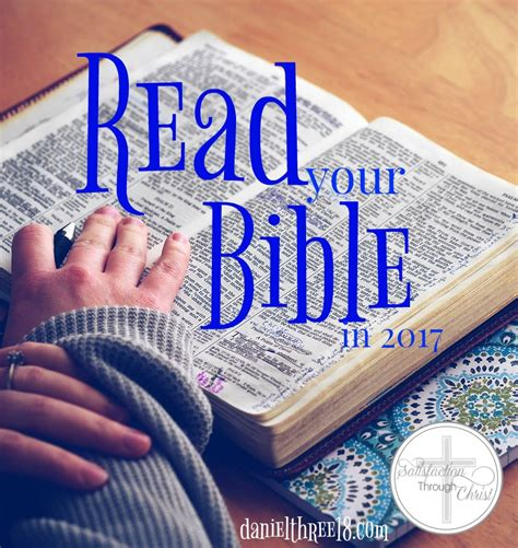 Read Your Bible by Read Your Bible In 2017 Satisfaction Through
