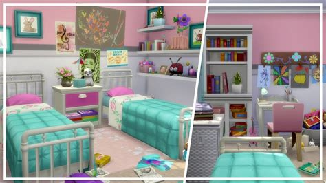 bedroom for 4 kids kids bedroom ft parenthood pack the sims 4 room build