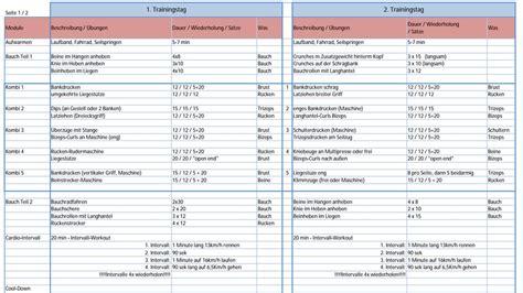 muskelaufbau zuhause muskelaufbau trainingsplan 6er split muskelaufbautraining