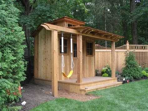 shed  fence shed homes shed cabin home garden