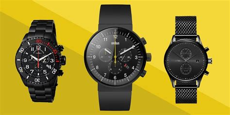best black best black watches for askmen