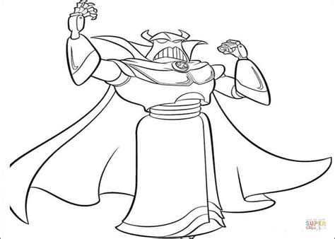 zurg coloring pages printable zurg coloring page free printable coloring pages