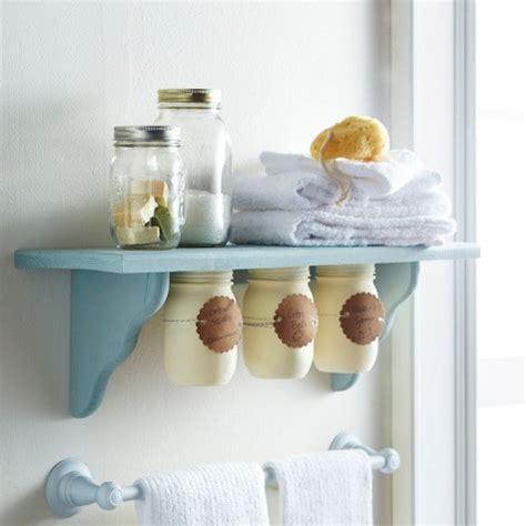 bathroom decorating ideas diy 25 cute diy mason jar storage ideas space saving mason