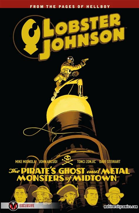 lobster johnson volume 5 mignolaversity tonci zonjic reveals lobster johnson volumes 5 and 6 multiversity comics