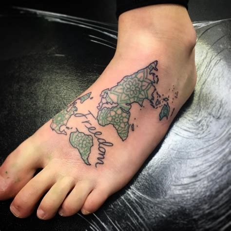 world map tattoo designs the gallery for gt world outline