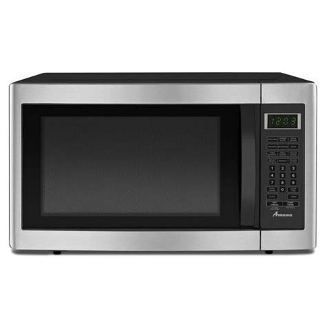 Sears Countertop Microwave by Amana Amc2166as 1 6 Cu Ft Countertop Microwave