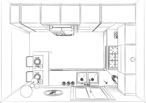 piantina cucina pianta progetto cucina arredare di arredamento