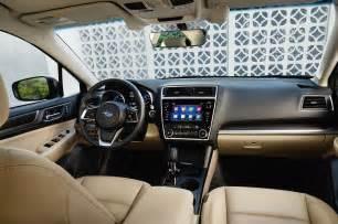 Subaru Legacy Interior Refreshed 2018 Subaru Legacy Will Debut At The Chicago