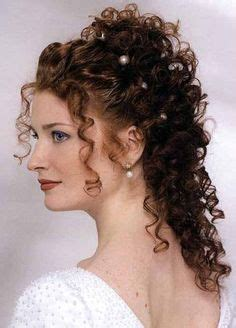curly partial up how 8 best curly hair partial updos images on pinterest