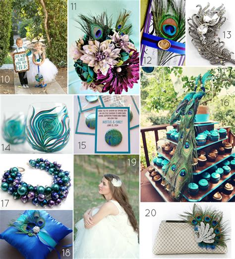 peacock wedding theme peacock wedding ideas wedding themes emmaline