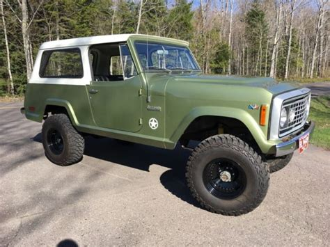 bronco jeep 1972 jeep commando 13 000 orig not bronco or scout