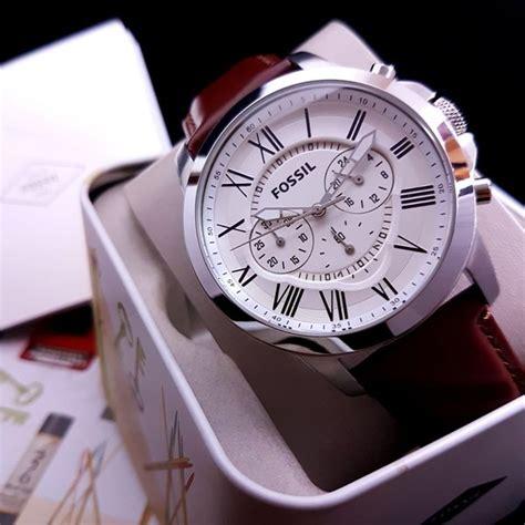 jual jam tangan pria merk fossil fs original bm